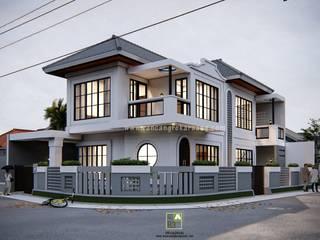 Rancang Reka Ruang Single family home Aluminium/Zinc White