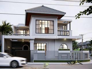 Rancang Reka Ruang Single family home Glass White
