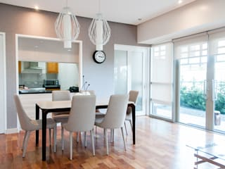 The Residences At Greenbelt Modern dining room by D3ID Design and Build Modern