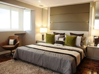 Phoenix Heights Condominium, Pasig Modern style bedroom by D3ID Design and Build Modern