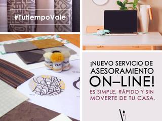 Asesoramiento On-line / #TutiempoVale Salones clásicos de Valeria Pires Interiorismo Clásico