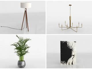 сучасний  by Glancing EYE - Asesoramiento y decoración en diseños 3D , Сучасний