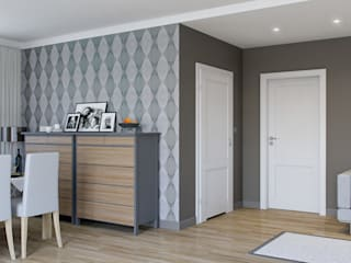 InPortas Modern dining room Wood White