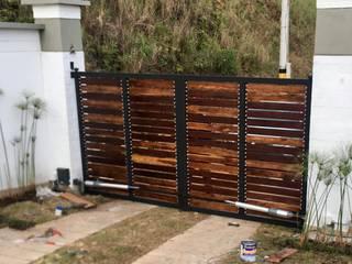 Puertas Garaje y Otros en Hierro Forjado y Lámina de Aluminios CMC Clásico