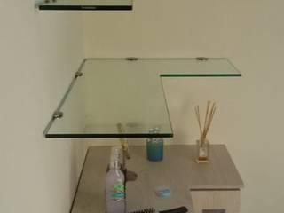 Vidrio Templado y Vidrio Crudo de Aluminios CMC Moderno