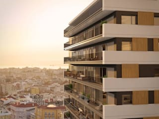 A TOWER: AMOREIRAS FLATS URBAN FEEL por Propriété Générale International Real Estate