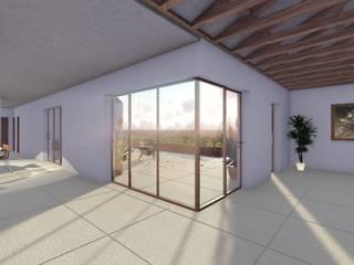 Modelação e Renderização Salas de jantar modernas por Diogo Faísca Moderno