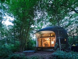遠野未来建築事務所 / Tono Mirai architects Country house Wood Wood effect