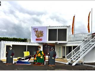 台南鹿耳門貨櫃屋特展 根據 光合作用設計有限公司 現代風