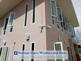 Pintu & Jendela Modern Oleh โรงงาน พัทยา กระจก ยูพีวีซี Pattaya UPVC Windows & Doors Modern