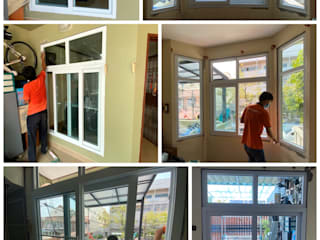 Oleh โรงงาน พัทยา กระจก ยูพีวีซี Pattaya UPVC Windows & Doors Modern