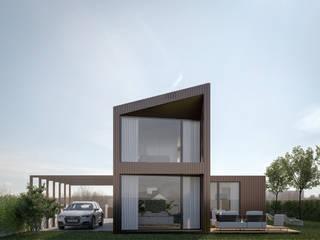 Modelo Elegance V3 por Fábrica Das Casas