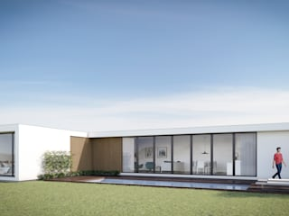 Modelo Luxury R/C T por Fábrica Das Casas Moderno