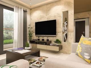 SNN RAJ ETTERNIA Modern living room by Entracte Modern