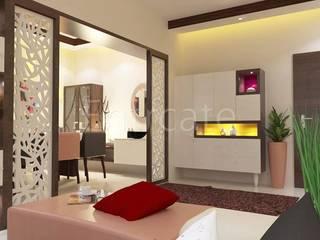 Sai Kusum Infinity, Patna Modern living room by Entracte Modern