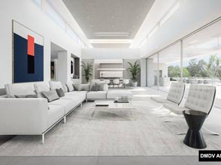 Minimalist living room by DMDV Arquitectos Minimalist
