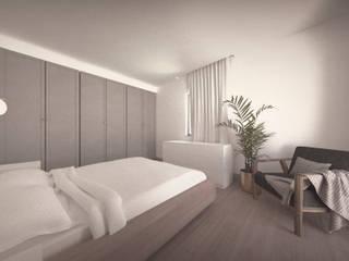 Casa no Jamboeiro, Funchal Quartos ecléticos por AA.Arquitectos Eclético