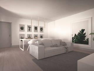 Casa no Jamboeiro, Funchal Salas de estar ecléticas por AA.Arquitectos Eclético