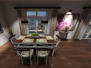 das3Dstudio – Design & 360 Grad Virtual Reality & Visualisierung vom Grundriss – Made in Germany das3Dstudio Moderne Esszimmer