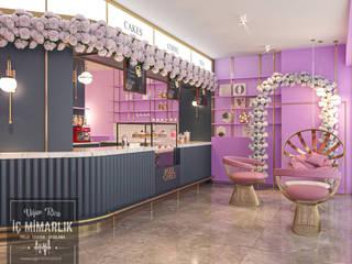 Uğur RİCA İÇ MİMARLIK – Rose Cakes & Coffee Shop - Proje Tasarım: modern tarz , Modern