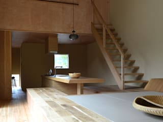 NASU CLUB Asiatische Wohnzimmer Holz Beige