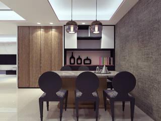 三重富貴街的私人會所 根據 超越設計工作室 現代風