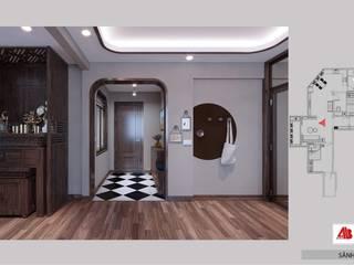 Thiết kế nội thất căn hộ chung cư Hoàng Quốc Việt bởi Thiết Kế Nội Thất - ARTBOX