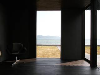 NASU CLUB Ausgefallene Fenster & Türen Holz Schwarz