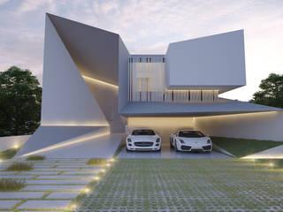 Casa AR20 Casas minimalistas de 21arquitectos Minimalista