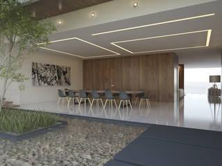 Casa Bosques Cedros Comedores minimalistas de 21arquitectos Minimalista