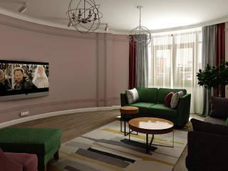 Квартира 150 м2 Гостиная в классическом стиле от Дизайнер Татьяна Алякова Классический