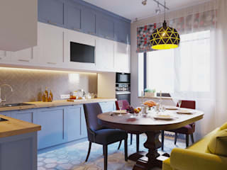 Квартира 150 м2 Кухня в классическом стиле от Дизайнер Татьяна Алякова Классический