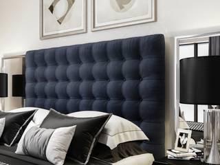 3D Innenraumvisualisierung Schlafzimmer und Bad Moderne Schlafzimmer von GRIFFEL 3D DESIGN Modern