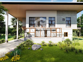 Structura Architects Villas Quartz White