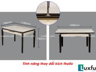 Bàn ăn thông minh tích hợp bếp từ: Châu Á  by Công ty CP XD và TM Newland Việt Nam, Châu Á