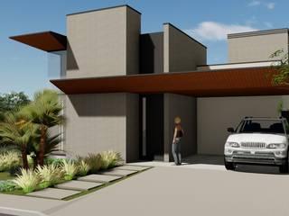 Modern houses by Hamilton Turola Arquitetura e Design Modern