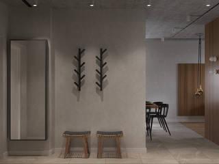 Natural minimalism Коридор, прихожая и лестница в стиле минимализм от Надежда Шульга Минимализм