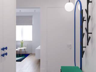 Spring vibes apartment Коридор, прихожая и лестница в скандинавском стиле от Надежда Шульга Скандинавский
