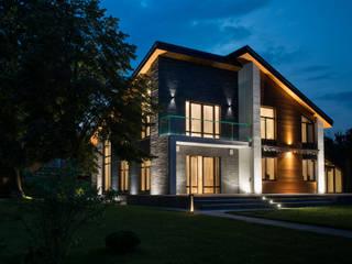 Дом в Нижнем Новгороде Дома в стиле минимализм от o2designmoscow Минимализм