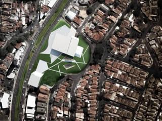Teatro municipal de Campinas Locais de eventos modernos por BRITA ARQUITETURA Moderno