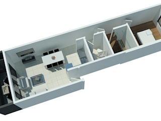 Fournier Comedores modernos de LR arquitectura Moderno
