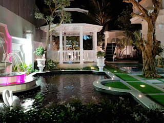 Thiết Kế Sân Vườn Biệt Thự Cổ Điển - Tam Kỳ bởi SGL LANDSCAPE ARCHITECTURE CO.,LTD
