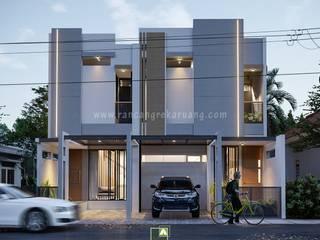Rancang Reka Ruang Single family home Concrete Grey