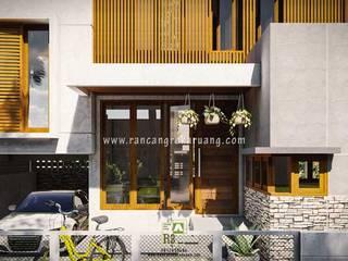 Rancang Reka Ruang Single family home Wood Brown