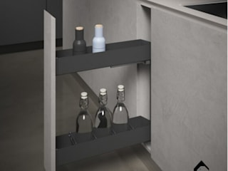 Orione Collection | Kitchen Storage Units: modern  by Equipoise Living (eqpliving.com),Modern