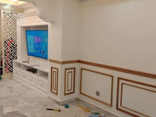 Hardwood Wainscoting Design Condominium Selangor : modern  by WoodMalaysia, Modern