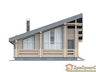 ПСК Древпроектстрой Casas de madera Madera Acabado en madera