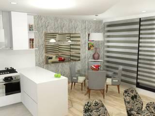 Modern living room by Omar Interior Designer Empresa de Diseño Interior, remodelacion, Cocinas integrales, Decoración Modern