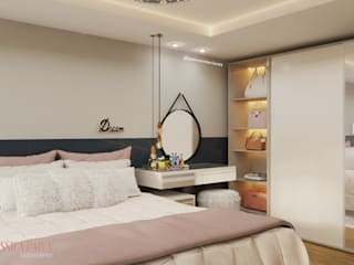 Jéssica Paiva Interiores Kamar tidur kecil