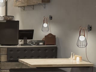 INESLAM ILUMINACION, SL Dinding & Lantai Modern